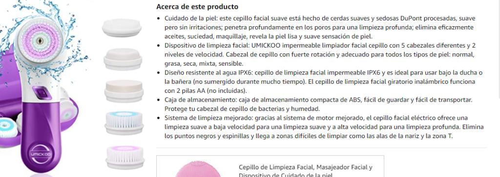Productomschrijvingen Spaans en Duits redigeren.
